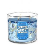 Bougie 3 mèches FROSTED COCONUT SNOWBALL Bath and Body Works