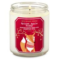 Bougie moyenne SPICED APPLE TODDY Bath and Body Works