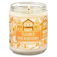 Bougie moyenne SUGARED SNICKERDOODLE Bath and Body Works