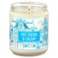 Bougie moyenne HOT COCOA AND CREAM Bath and Body Works