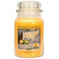 Grande Jarre 2 mèches LEMON DROP Village Candle