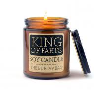 Bougie parfumée KING OF FARTS The Burlap Bag Difmu