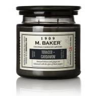 Bougie 2 mèches Mrs Baker TOBACCO AND CARDAMON Colonial Candle