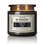 Bougie 2 mèches Mrs Baker BLACK TEA FLORA Colonial Candle