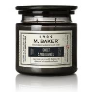 Bougie 2 mèches Mrs Baker SWEET SANDALWOOD Colonial Candle