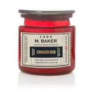 Bougie 2 mèches Mrs Baker CINNAMON BARK Colonial Candle