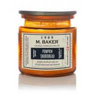 Bougie 2 mèches Mrs Baker PUMPKIN SHORTBREAD Colonial Candle