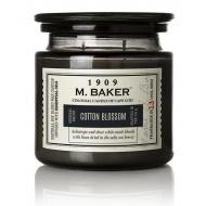Bougie 2 mèches Mrs Baker COTTON BLOSSOM Colonial Candle