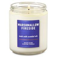Bougie mason jar MARSHMALLOW FIRESIDE Bath and Body Works