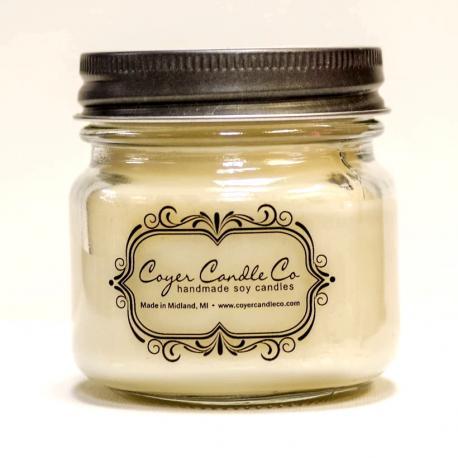 Bougie mason jar WINTER HUG Coyer Candle Difmu