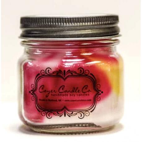 Bougie mason jar WOODLAND SPICE Coyer candle
