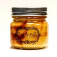 Bougie mason jar GINGERBREAD HOUSE Coyer candle
