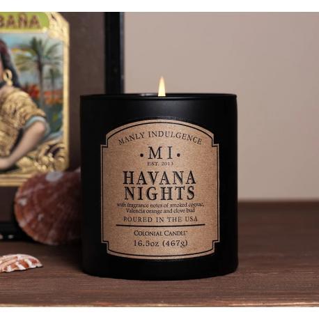 Bougie parfumée MI HAVANA NIGHTS Colonial Candle