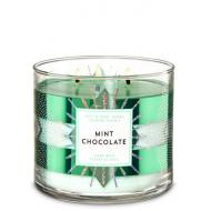 Bougie 3 mèches MINT CHOCOLATE Bath and Body Works