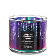 Bougie 3 mèches SUGARED BLUEBERRY DONUT Bath and Body Works