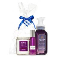 Gift Set Bougie BLACK CHERRY MERLOT Bath and Body Works Difmu