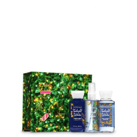 Gift Set TWILIGHT WOODS Box Bath and Body Works