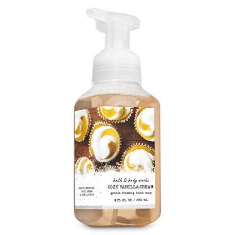 Savon mousse COZY VANILLA CREAM Bath and Body Works Hand Soap