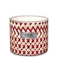 Bougie 3 mèches BONFIRE S'MORES Bath and Body Works