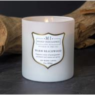 Bougie mèches en bois MI WARM BEACHWOOD Colonial Candle