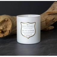 Bougie mèches en bois MI SEA SALT AND GINGER Colonial Candle