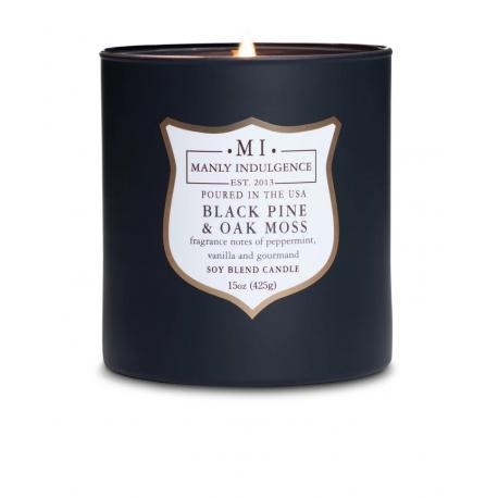 Bougie mèches en bois MI BLACK PINE AND OAK MOSS Colonial Candle