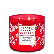 Bougie 3 mèches JAPANESE CHERRY BLOSSOM Bath and Body Works Difmu France