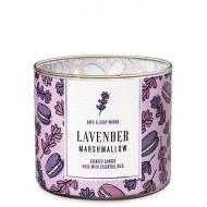 Bougie 3 mèches LAVENDER MARSHMALLOW Bath and Body Works