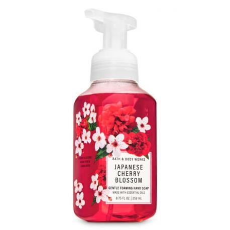 Savon mousse JAPANESE CHERRY BLOSSOM Bath and Body Works France Hand Soap
