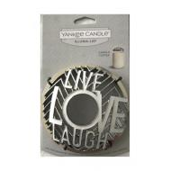 Illuma-Lid LIVE LAUGH LOVE Yankee Candle
