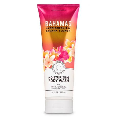 Body Wash BAHAMAS PASSIONFRUIT AND BANANA FLOWER Bath and Body Works