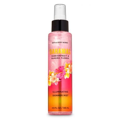 Brume parfumée scintillante BAHAMAS PASSIONFRUIT AND BANANA FLOWERBath and Body Works