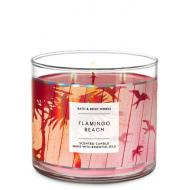Bougie 3 mèches FLAMINGO BEACH Bath and Body Works France
