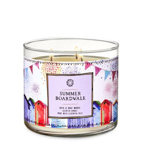 Bougie 3 mèches SUMMER BOARDWALK Bath and Body Works