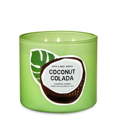 Bougie 3 mèches COCONUT COLADA Bath and Body Works