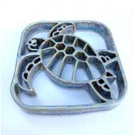 Repose plat-bougie TORTUE Baypottery