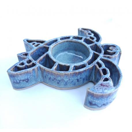Tealight - votive holder TORTUE desert Baypottery