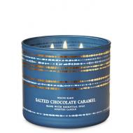Bougie 3 mèches SALTED CHOCOLATE CARAMEL Bath and Body Works France