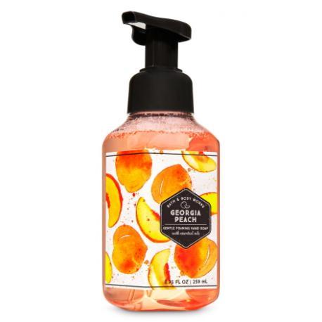 Savon mousse GEORGIA PEACH Bath and Body Works Hand Soap
