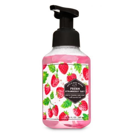 Savon mousse FRESH STRAWBERRY TART Bath and Body Works FRANCEHand Soap
