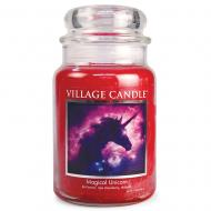 Grande Jarre 2 mèches MAGICAL UNICORN Village Candle Exclusive
