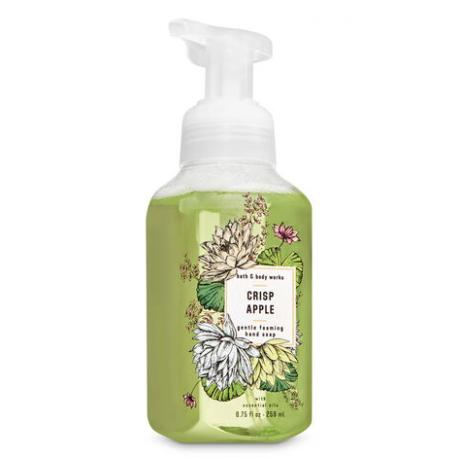 Savon mousse CRISP APPLE Bath and Body Works Hand Soap