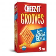 Crackers au fromage CHEEZ IT zesty cheddar ranchcheddar jack