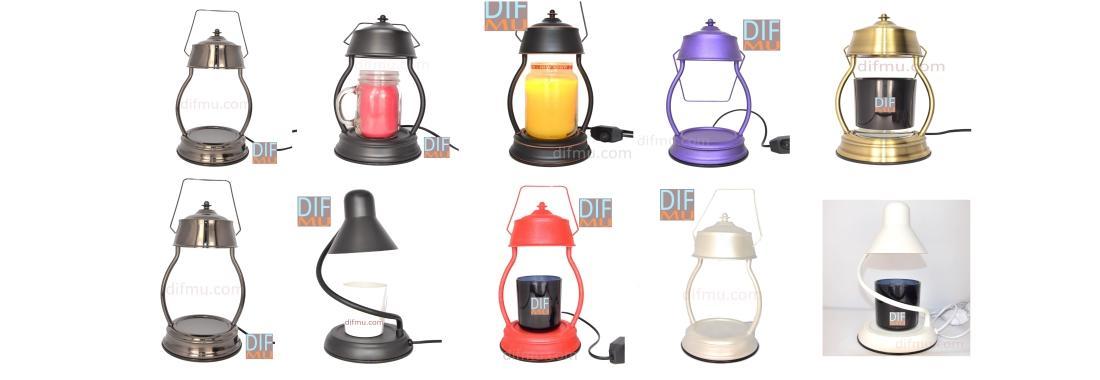 Lampe chauffante pour bougie