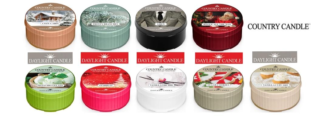 Daylight country candle