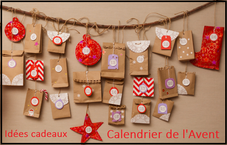 Idées cadeaux pour calendrier de l'avent personnalisé home made